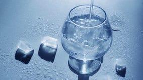 вода льда чисто сток-видео