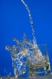 вода действия Стоковые Изображения