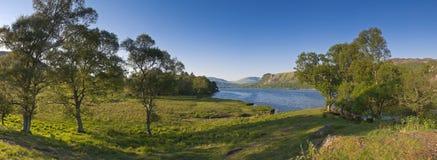Вода Derwent, район озера, Великобритания Стоковые Изображения RF