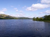 Вода Derwent, район озера Стоковое фото RF