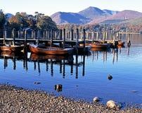 Вода Derwent, Cumbria, Великобритания. Стоковая Фотография RF