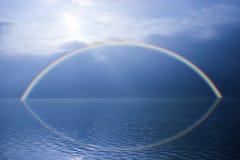 Вода Scape радуги Стоковые Фотографии RF
