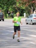 Во-вторых марафон Люблина, Люблин, Польша Стоковые Фото