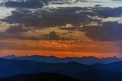 Во-вторых перед восходом солнца Стоковые Фотографии RF