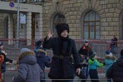 Волгоград, Maslenitsa 2017 Стоковое Изображение RF