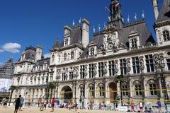 Волейбол в Париже 2013. Стоковая Фотография
