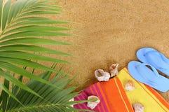 волейбол лета пляжа шарика предпосылки красивейший пустой Стоковое фото RF