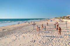 Волейбол на пляже Стоковые Фото