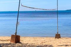волейбол пляжа сетчатый Стоковое Изображение