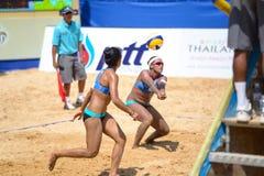 Волейбол пляжа стоковые фото