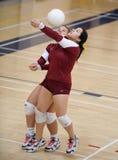 Волейбол средней школы ` s женщин Стоковое Изображение RF
