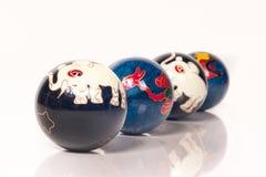 во избежание усилие китайца шариков Стоковое Изображение RF