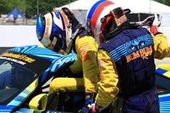 Водители гонок на выносливость стоковые фотографии rf