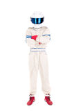 Водитель гоночной машины Стоковое Фото