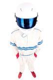 Водитель гоночной машины Стоковая Фотография RF