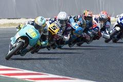 Водитель Джоан Mir Команда леопарда Moto3 Энергия Grand Prix изверга Каталонии Стоковое Изображение