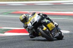 Водитель Томас Luthi Команда CARXPERT Moto2 Энергия Grand Prix изверга Каталонии Стоковые Фотографии RF