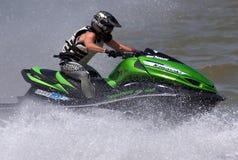 Водитель лыжи двигателя Стоковое Изображение