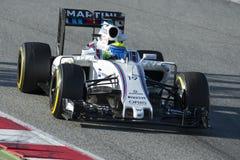 Водитель Felipe Massa Команда Williams Мартини Стоковая Фотография RF