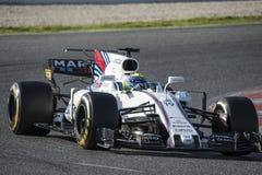 Водитель Felipe Massa Команда Williams Стоковое фото RF