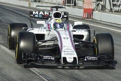 Водитель Felipe Massa Команда Williams Стоковое Изображение