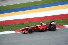 Водитель Felipe Massa Формула-1 Стоковая Фотография RF