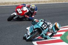 Водитель Polanco Muñoz, Аарон Moto3 Команда младшего леопарда Стоковые Фотографии RF