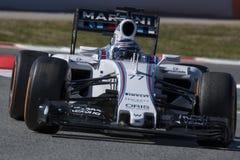 Водитель Valtteri Bottas Команда Williams Стоковое Изображение