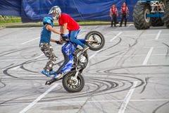 2 водителя на мотоцилк Стоковое Изображение RF