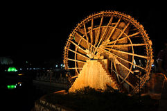 Вод-колесо Hama Стоковое Фото