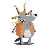 Волк в коже 02 овец Стоковая Фотография