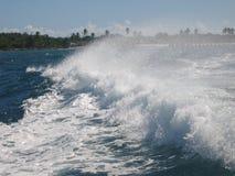 Волна & выплеск Стоковые Фото