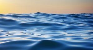 волна захода солнца природы элемента конструкции состава Стоковые Изображения RF