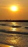 Волна золота Стоковые Фото
