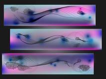 Волна и лист Стоковое Изображение RF
