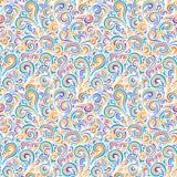 волна иллюстрации copyspase абстрактной предпосылки голубая Стоковое Изображение