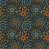 волна иллюстрации copyspase абстрактной предпосылки голубая Стоковое Фото