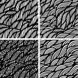 волна иллюстрации copyspase абстрактной предпосылки голубая Стоковая Фотография RF