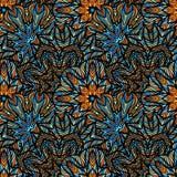 волна иллюстрации copyspase абстрактной предпосылки голубая Стоковая Фотография