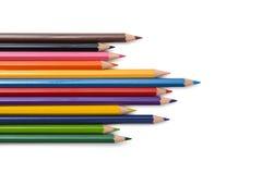 Волна карандаша цвета полного Стоковое фото RF