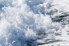 Волна корабля парома на открытом океане Стоковые Фотографии RF