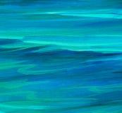Волна морской воды бирюзы, иллюстрация стоковые фото
