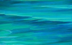 Волна морской воды бирюзы, предпосылка стоковое фото