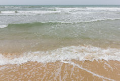 Волна моря с штормом Стоковое фото RF