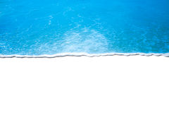 Волна на белой предпосылке Стоковые Изображения