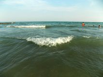 Волна на море Стоковая Фотография RF