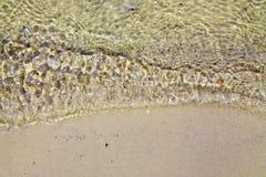 Волна на песке Стоковые Изображения