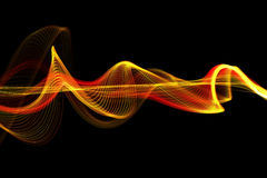 Волна переплетенная конспектом сетчатая Стоковые Фотографии RF