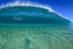 Волна песчаного наноса Стоковая Фотография