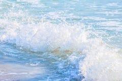 волна предпосылки голубая Стоковая Фотография RF